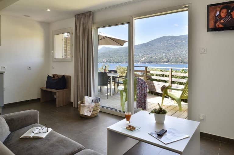 Terrasse Appartement Confort - Hôtel Sampiero Corso Propriano