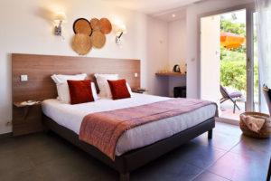 chambre confort hôtel Sampiero corso