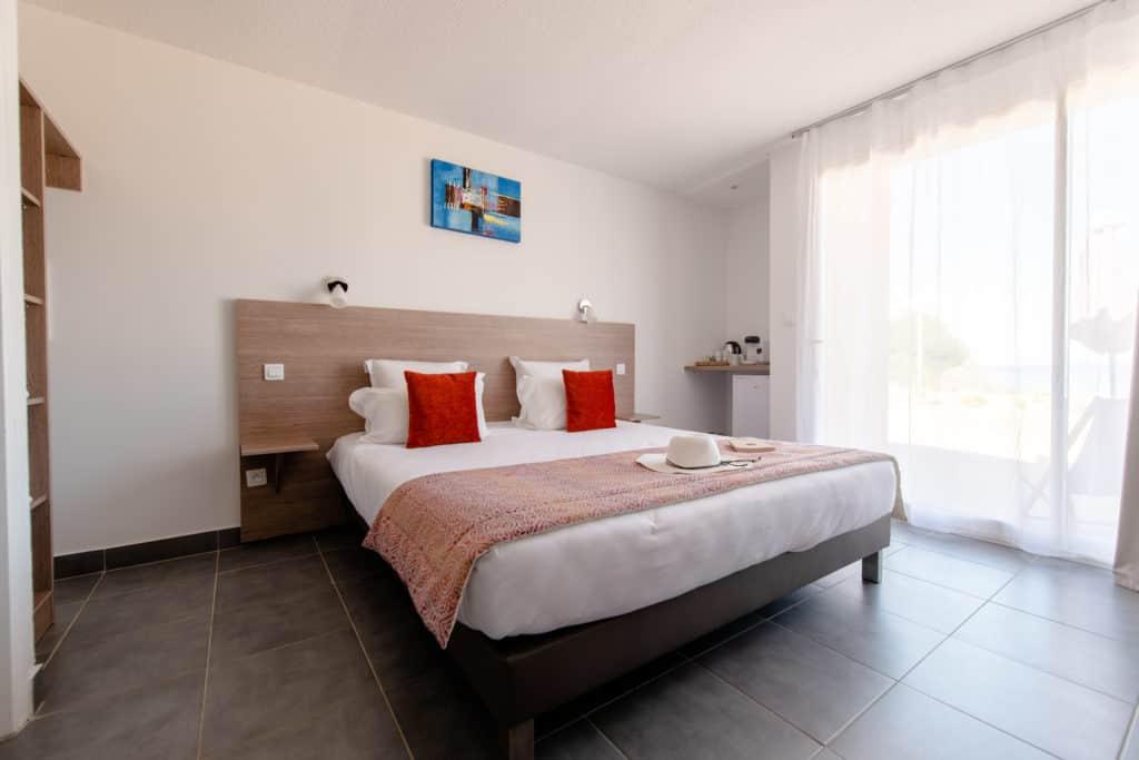 Hotel à Propriano - Chambre confort 4 couchages